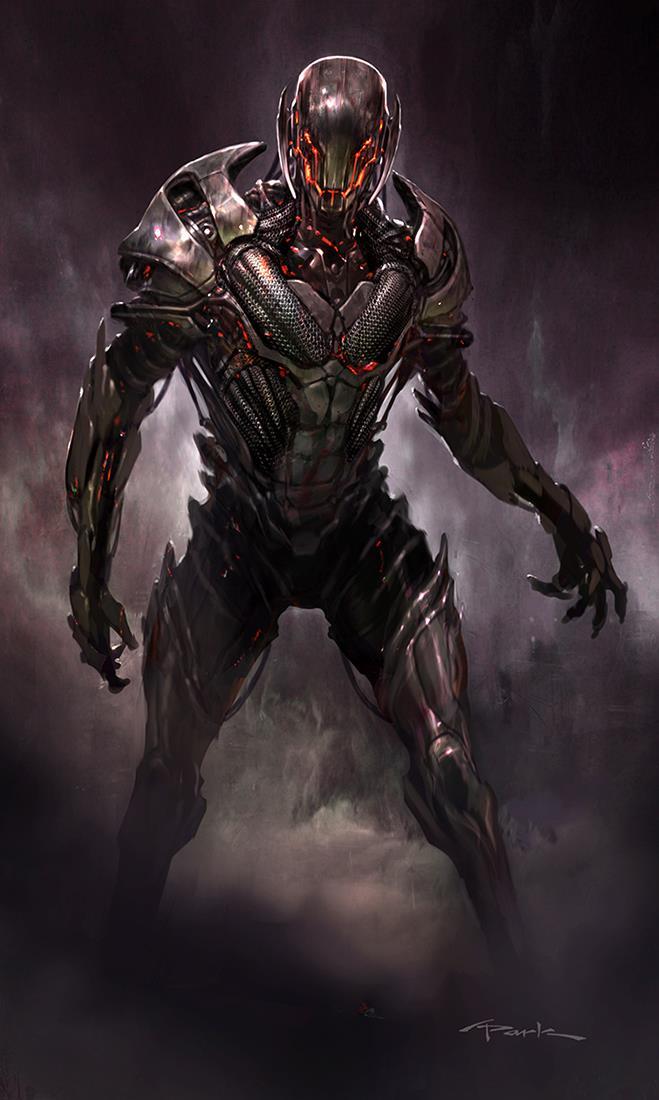 Ultron Vibranium Form